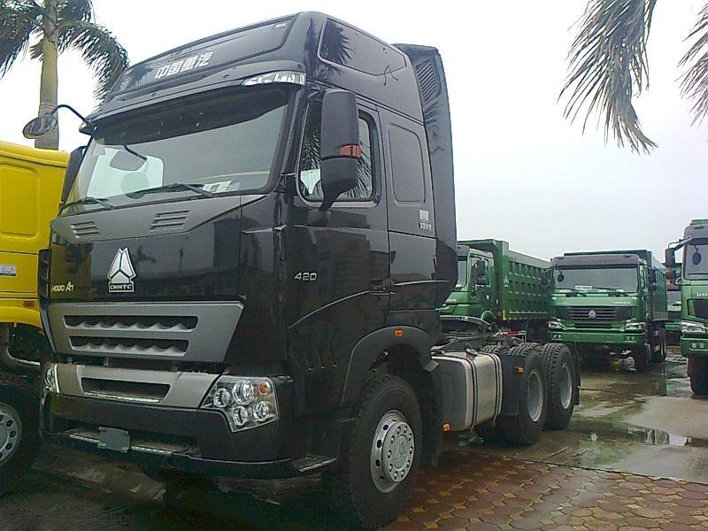 Xe Tải đầu kéo HOWO A7 420HP