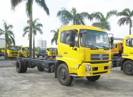 Xe Tải Dongfeng Thùng 1 Cầu 1 Zí (4x2)