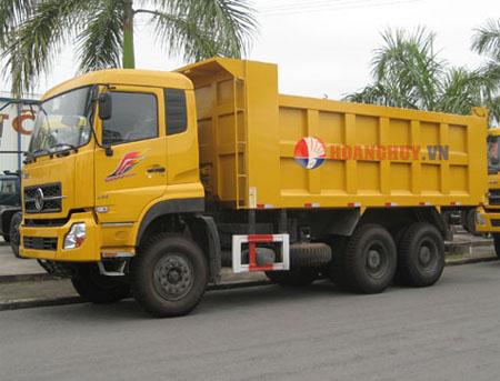 Xe Tải Dongfeng Ben L375 – 20 Vuông