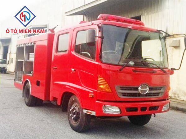 Xe Chữa Cháy Hino FC 4,3 Khối (Trang Bị Foam)