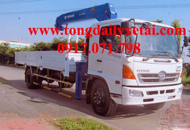 Xe tải Hino FG8JPSL gắn cẩu (9.4 tấn) 2016
