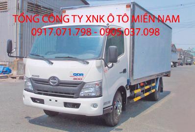 Xe tải HINO XZU720L Thùng Kín ALU