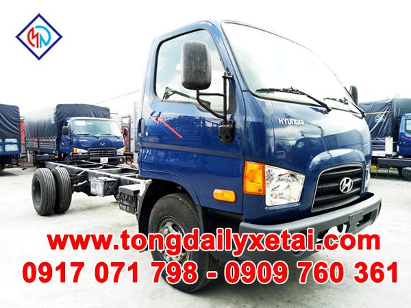 Xe Tải Hyundai HD72 Cabin Chassi