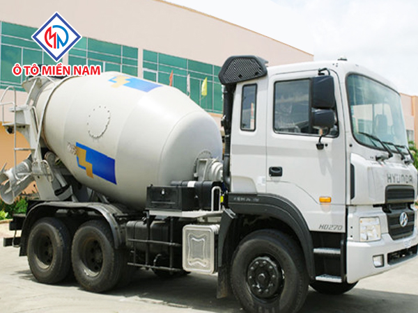 Xe Tải Hyundai HD270( 15 Tấn) Trộn Bê Tông 12m3