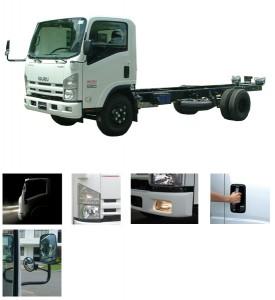 Xe Tải ISUZU FORWARD NLR55E (Tải Trọng: 1,4 tấn)