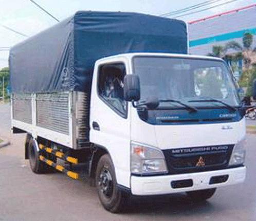 Xe tải Mitsubishi Mui Bạt 4,5 Tấn Canter 7.5 Great