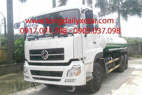 Xe Dongfeng Phun Nước Rửa Đường