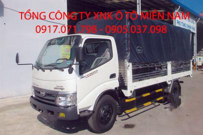 Xe tải HINO WU342L  MUI BẠT