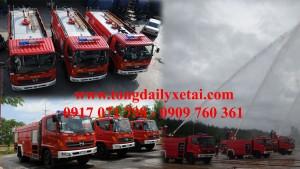 Xe chữa cháy Hino FG8JJSB 6,5 khối (trang bị foam)