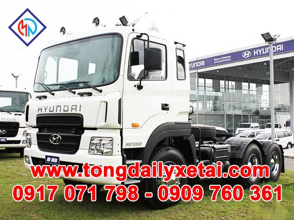 Xe Tải Hyundai Đầu Kéo HD1000 (100 Tấn)