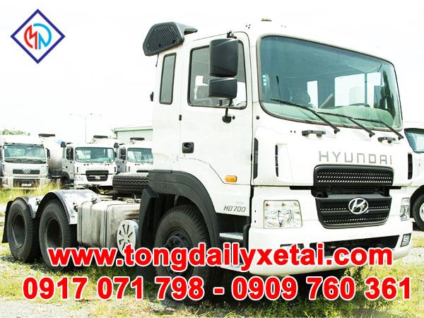 Xe Tải Hyundai Đầu Kéo HD700 ( 70 tấn)