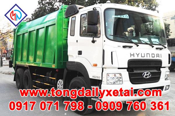 Xe Tải Hyundai HD260 (15 Tấn) Ép Rác