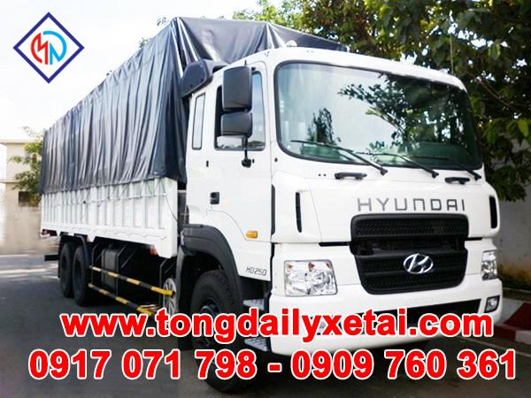 Xe Tải Hyundai HD250 Thùng Mui Bạt (14 Tấn)