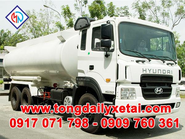 Xe Tải Hyundai HD260 ( 15 tấn ) Chở Ga 12m3