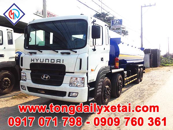 Xe Tải Hyundai HD320 Chở HEXANE (14.6 TẤN)