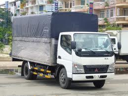 Xe Tải Mitsubishi Mui Bạt 3.5 Tấn Canter 6.5 Wide