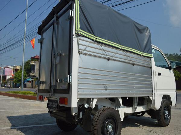 Xe Tải Suzuki Thùng Mui Bạt