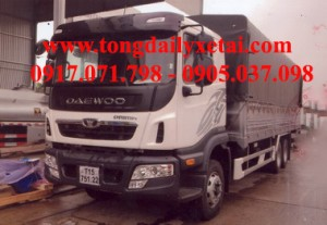 Xe tải Daewoo mui bạt (14.1 tấn)