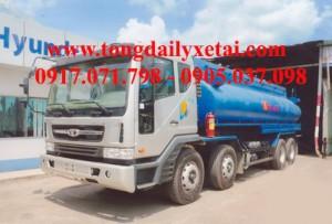 Xe tải Daewoo Xi téc Chở xăng (15.5 tấn)