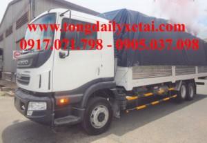 Xe tải Daewoo KC6C1 mui bạt (13.8 tấn)