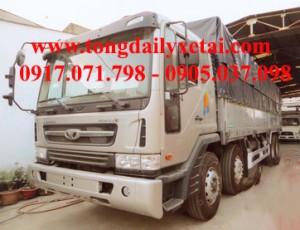 Xe tải Daewoo mui bạt (17.3 tấn)