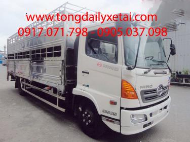 Xe tải Hino FC9JLSW Chở Gia Súc (4.6 tấn)