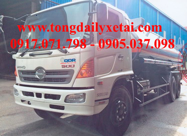 Xe tải Hino FL8JTSA Chở xăng (14 tấn)