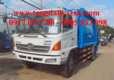 Xe tải Hino FG8JJSB Ép rác (5.7 tấn)