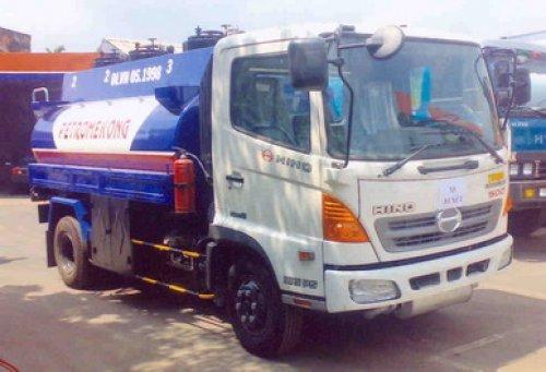 Xe tải Hino FC (6.4 tấn) bồn xăng dầu 9m3