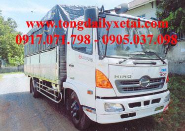 Xe tải Hino FC9JJSW mui bạt (6.2 tấn)