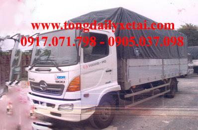 Xe tải Hino FC9JSW mui bạt (5.7 tấn)