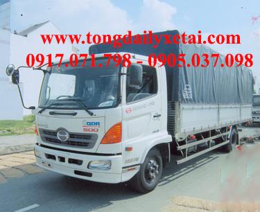 Xe tải Hino FC9JLSW mui bạt (6 tấn)