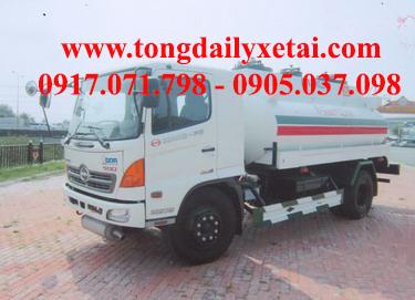 Xe tải Hino FM8JNSA 6×4 Chở Dầu (13.7 tấn)
