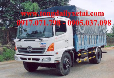 Xe tải Hino FG8JPSB mui bạt (8.5 tấn)