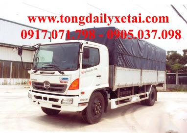 Xe tải Hino FG8JPSB mui bạt (8.6 tấn)