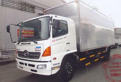 Xe tải Hino FG8JPSB Thùng Kín Bảo Ôn (8.2 tấn)