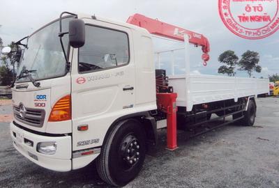 Xe tải Hino FG8JPSL Gắn Cẩu UNIC 554