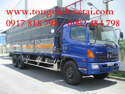 Xe tải Hino FL (15 tấn) mui bạt