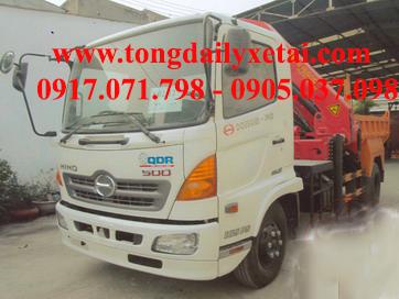 Xe tải Hino FC9JJSW gắn cẩu (6.4 tấn)