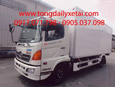 Xe tải Hino FC9JJSW thùng đông lạnh 6,4 Tấn