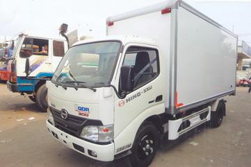 Xe tải Hino XZU650L Thùng Kín Bảo Ôn (1.9 tấn)
