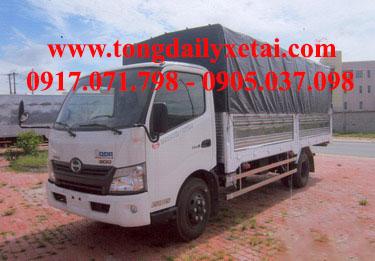 Xe tải HINO XZU720L mui bạt (4.1 tấn)