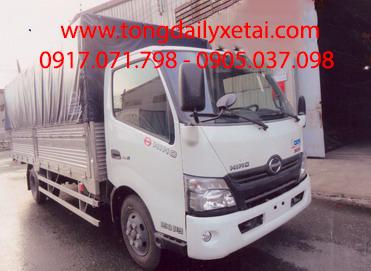 Xe tải Hino XZU730L mui bạt (4.8 tấn)