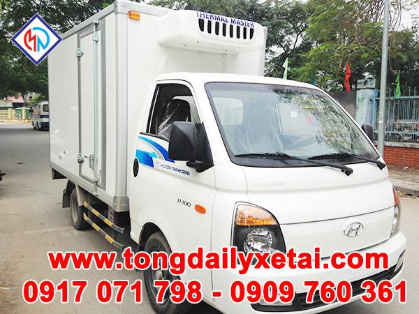 Xe Tải Hyundai Porter II Đông Lạnh 1 Tấn