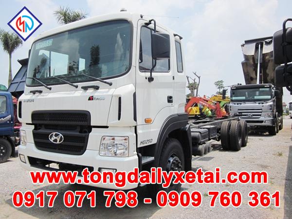 Xe Tải Hyundai HD250 – Cabin Chassi – 14 tấn