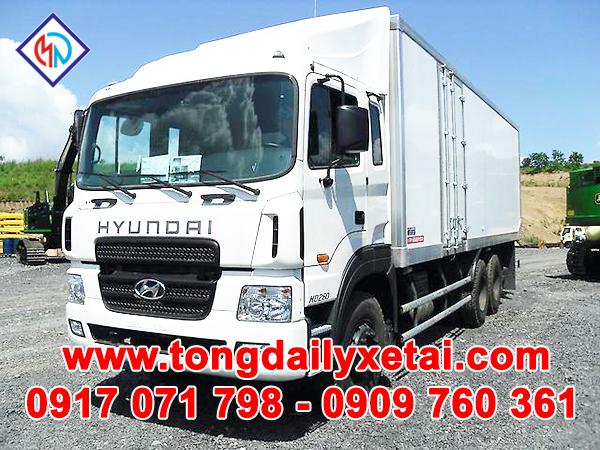 Xe Tải Hyundai HD250 Thùng Kín (14 Tấn)