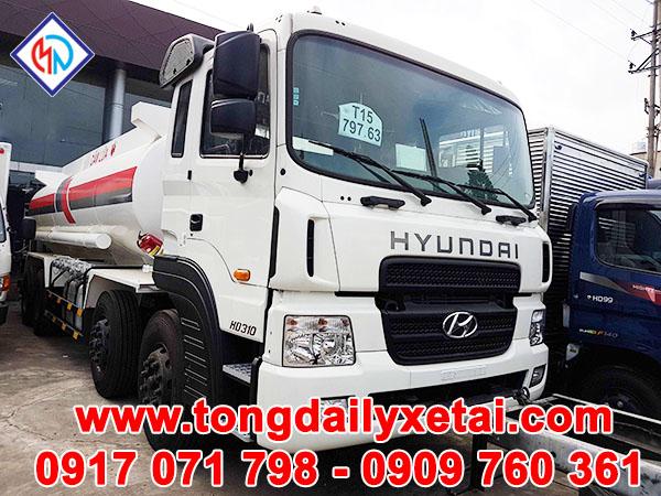 Xe Tải Hyundai HD310( 19 tấn) Chở Xăng Dầu 22m3