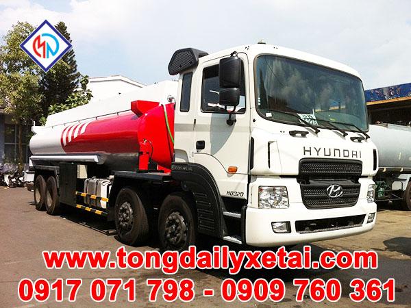 Xe Tải Hyundai HD320( 19 tấn) Chở Xăng Dầu 24m3