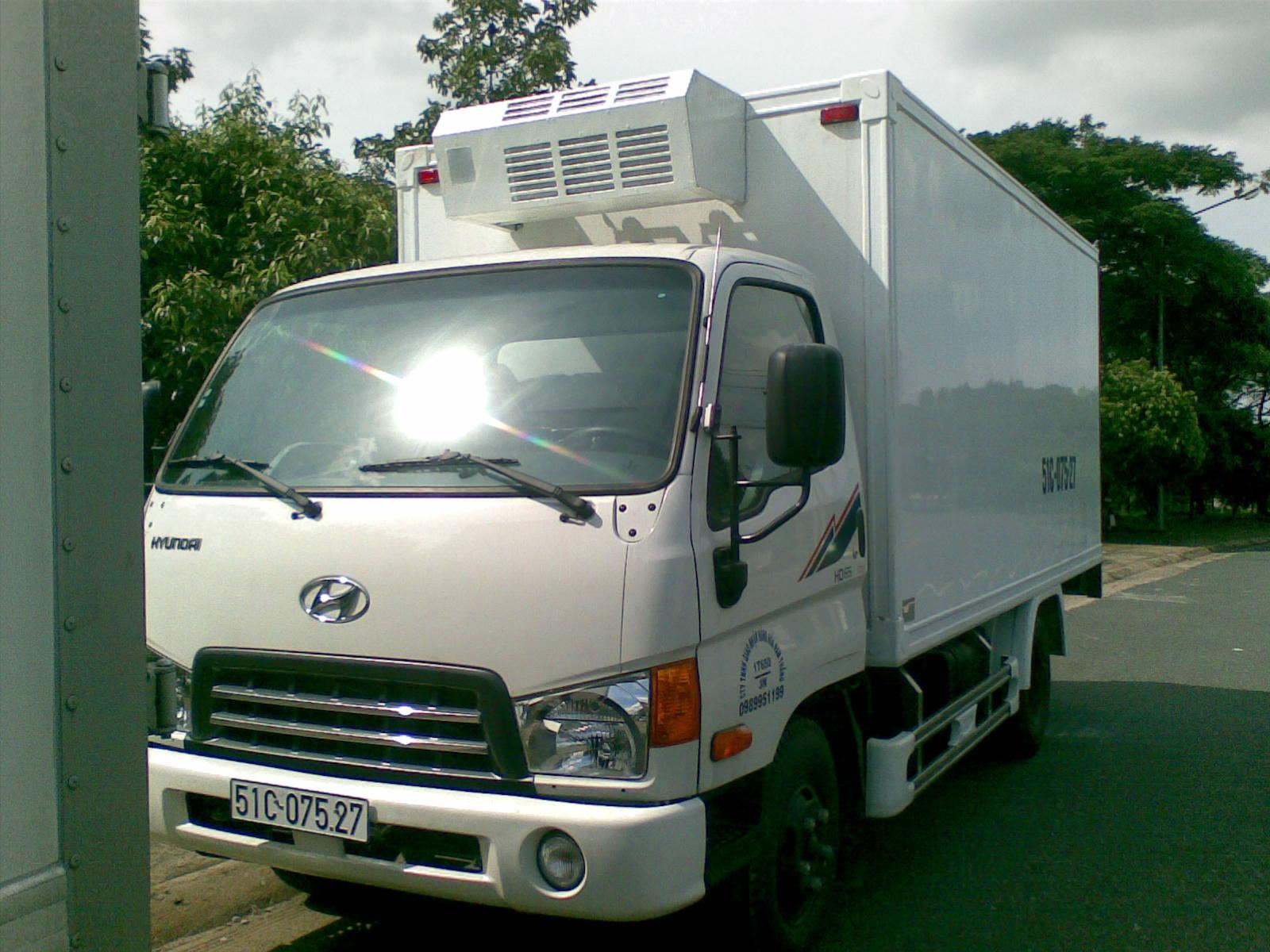Xe Tải Hyundai Đông Lạnh