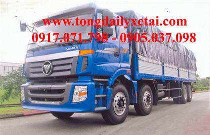 Xe tải Kia THACO AUMAN C3000A Mui bạt (17.1 tấn)